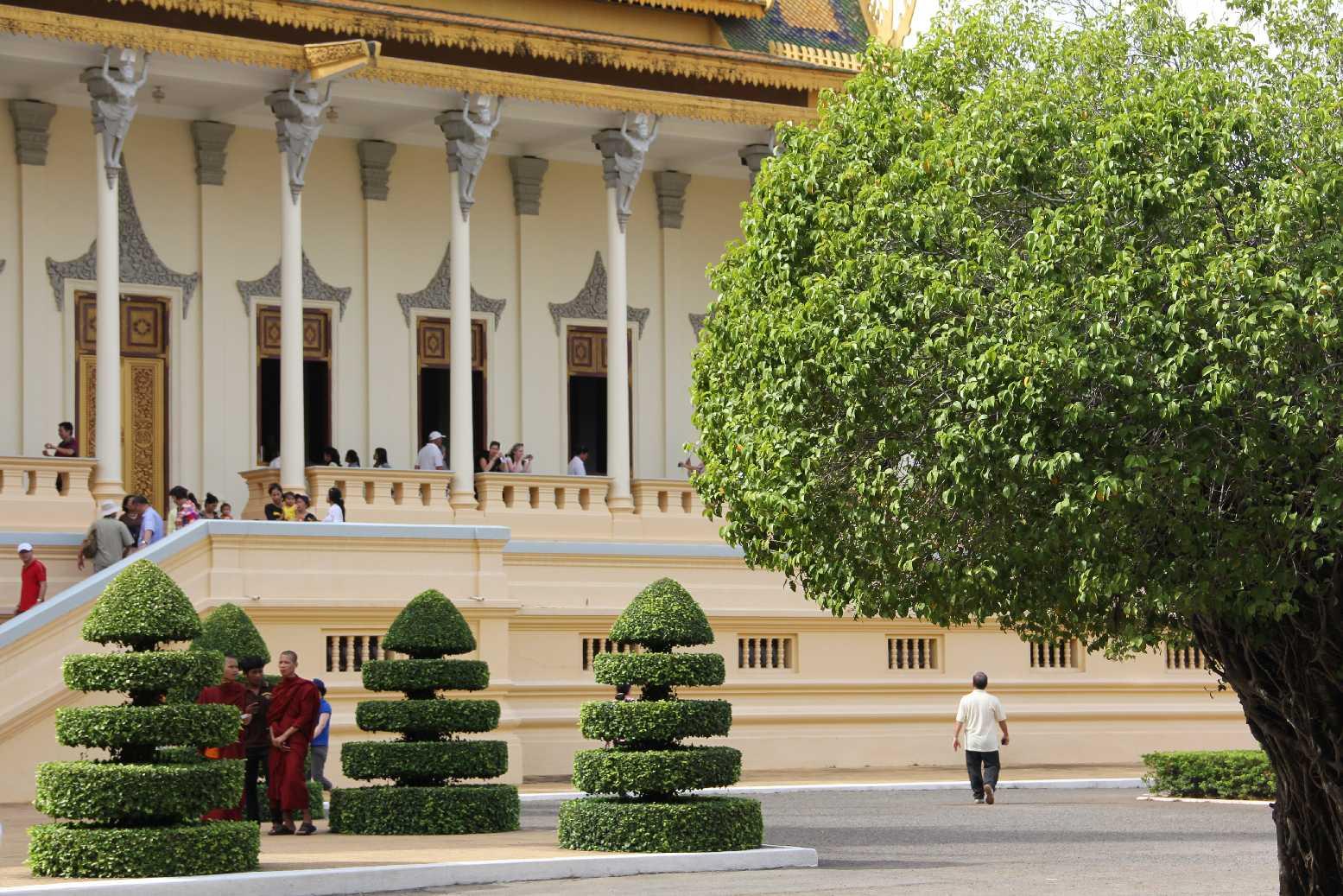 Kamboçya - Phnom Penh - Kraliyet Sarayı