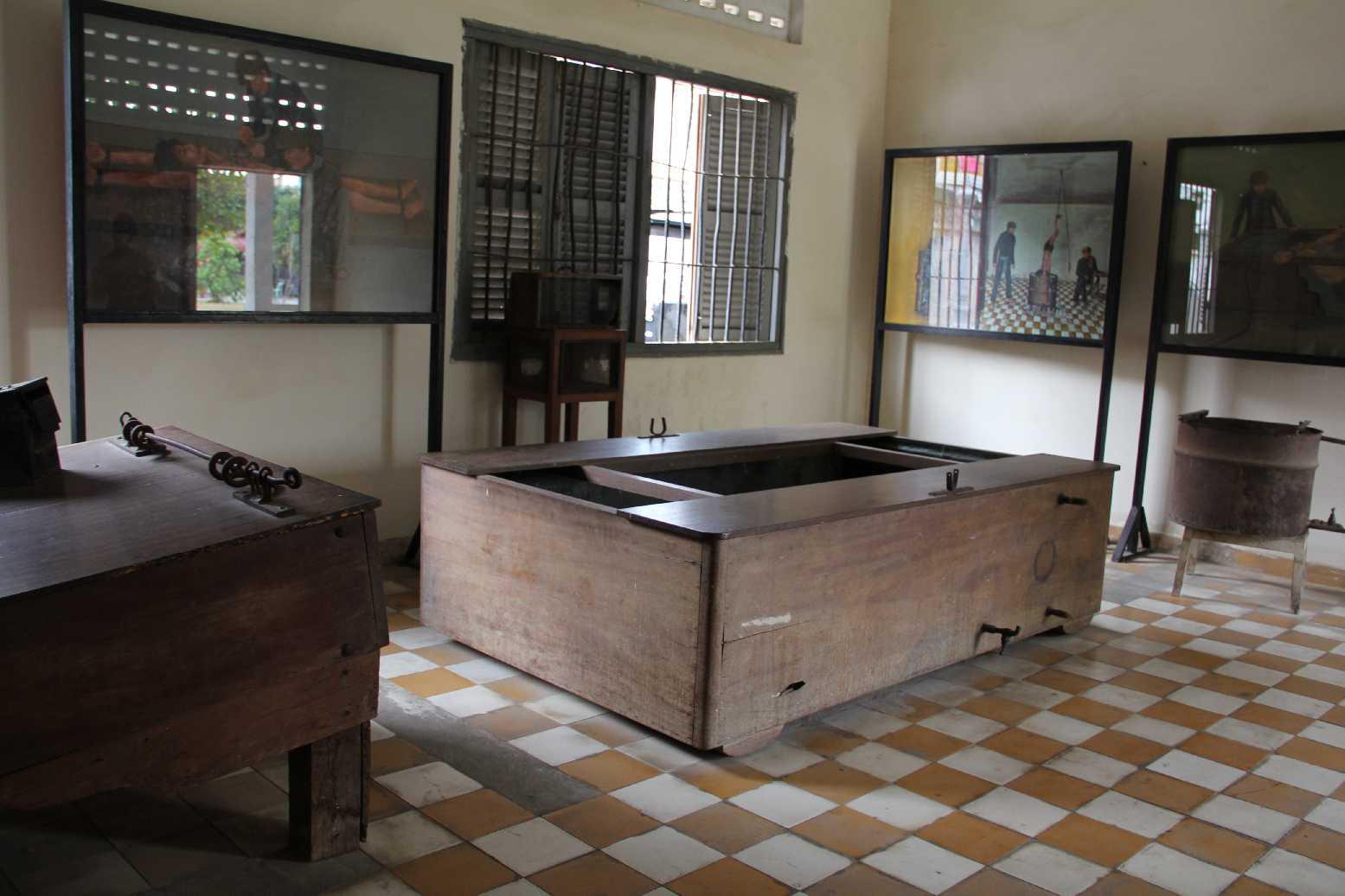 Kamboçya - S21 Müzesi