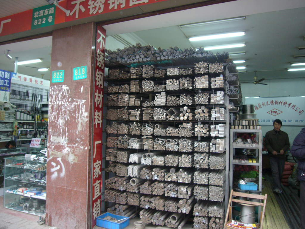 Şanghay'da Hırdavat Alışverişi