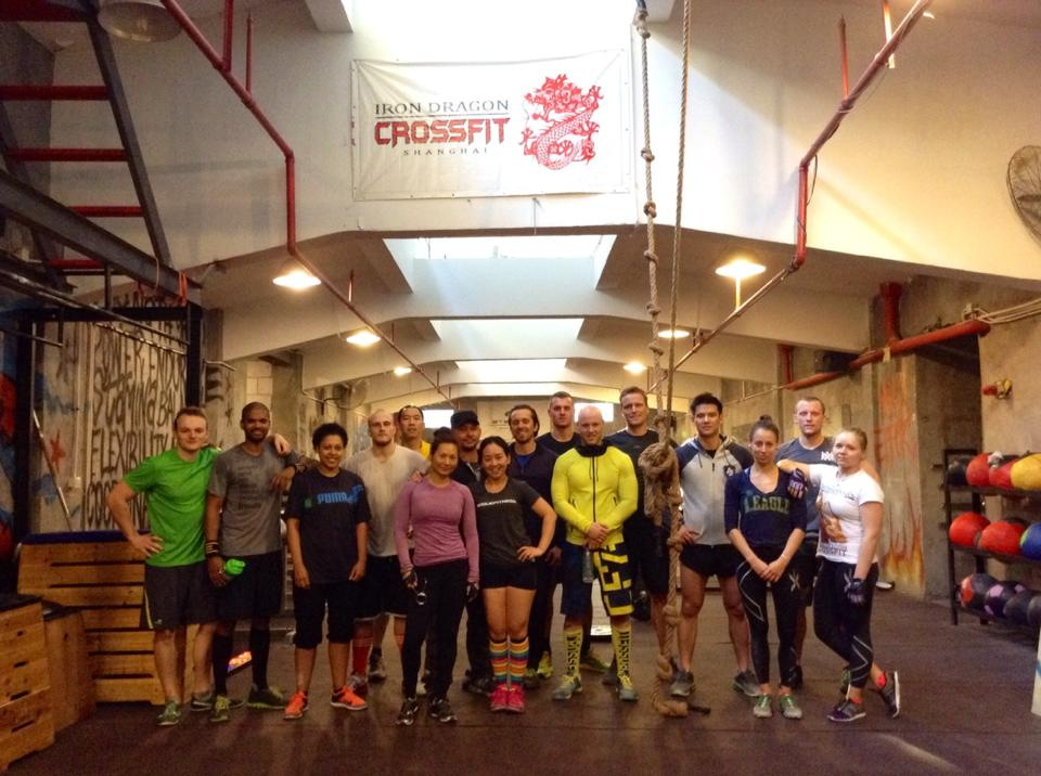 Şanghay'da Crossfit Salonu (Iron Dragon Crossfit)