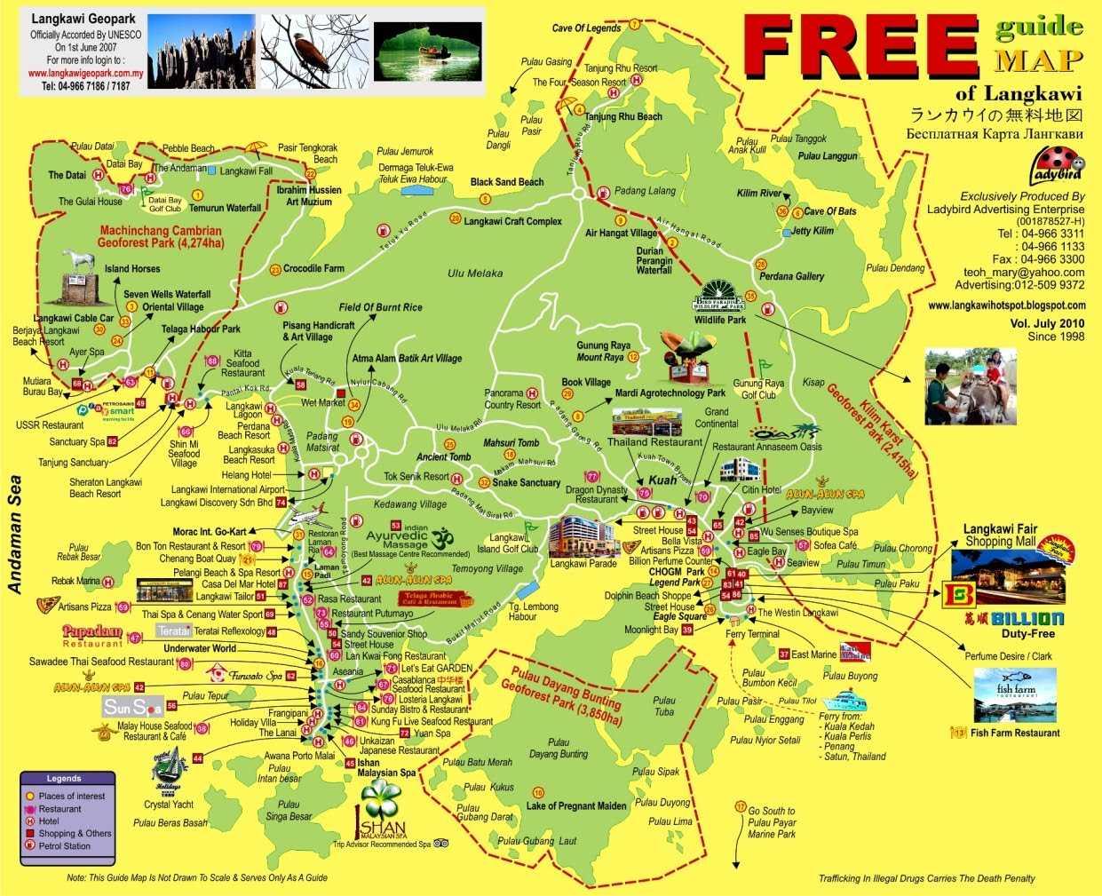 Şanghay'dan Langkawi'ye Aktivite Dolu Bir Tatil