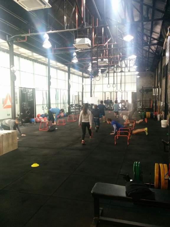 Şanghay'da Crossfit Salonu (Reebok Crossfit MeWellness)