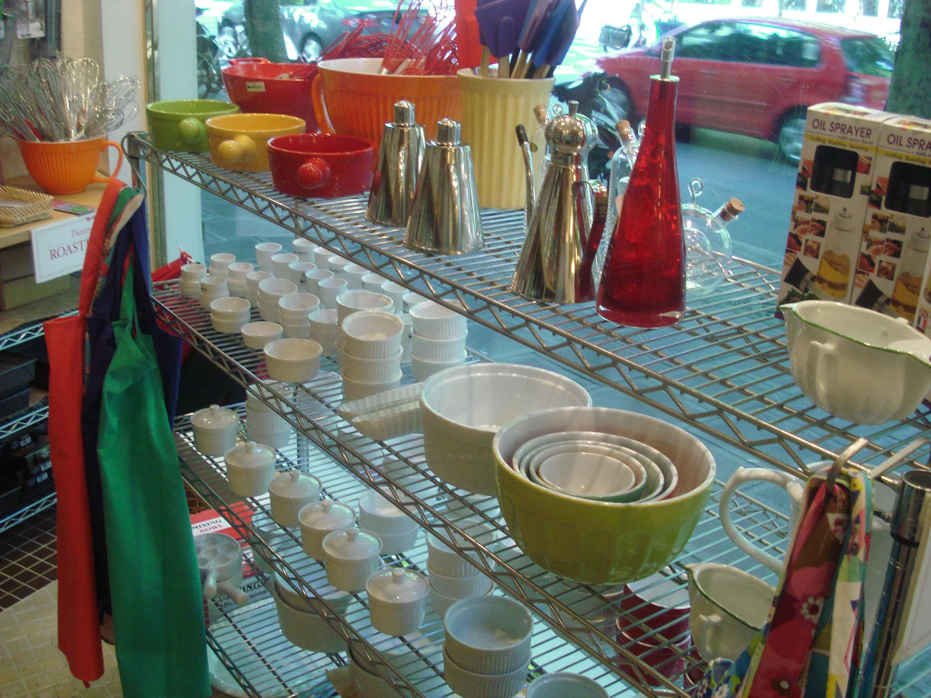 Şanghay Rehberi - Şangay\'da Mutfak Eşyası Alışverişi