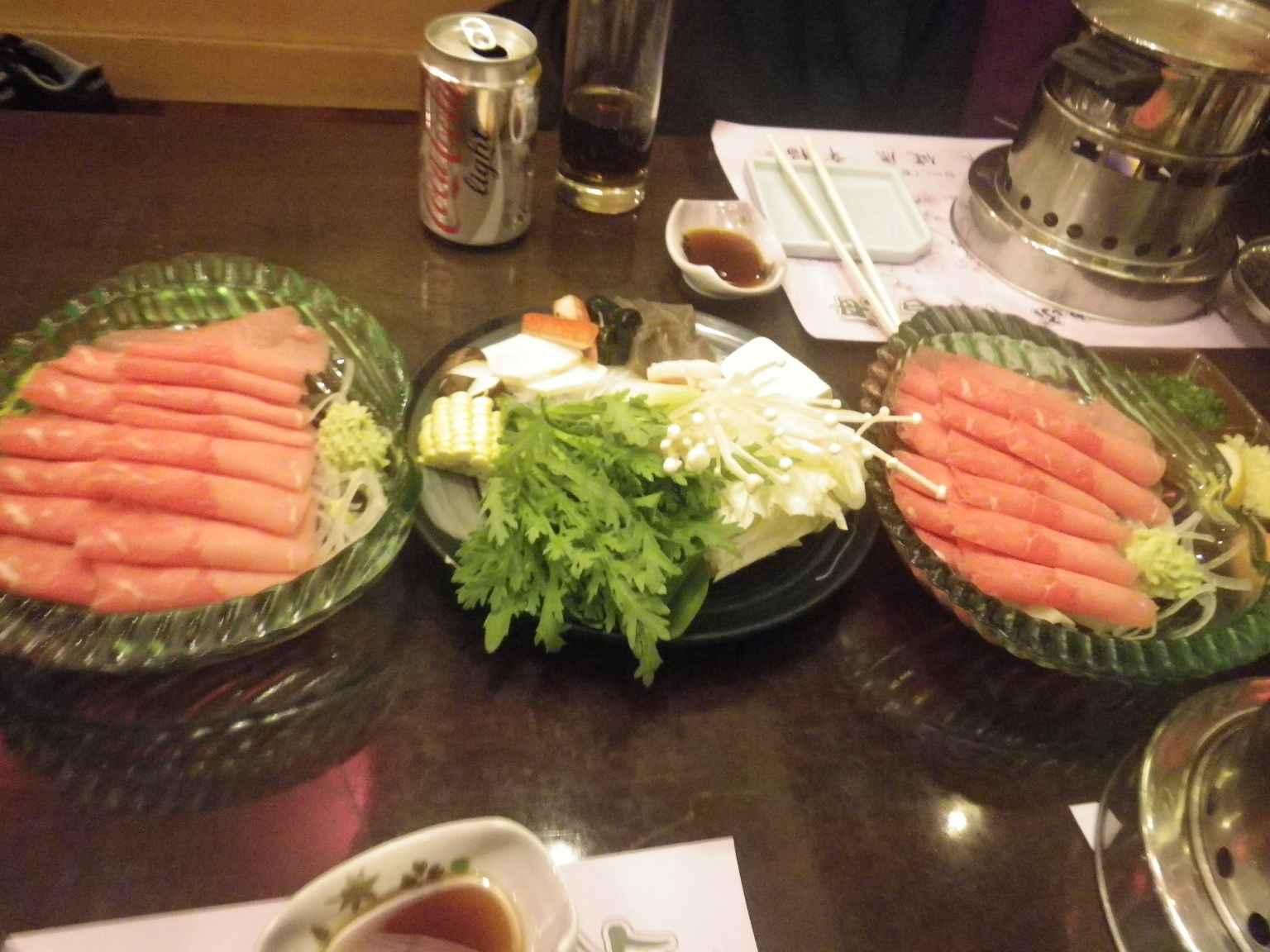 Şanghay\'da Japon Hot Pot (Shabu Shabu)