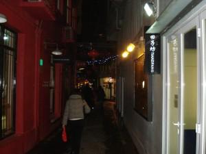 Taikang Lu sokaklarından biri