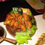 Şangay - Bakhura Hint Restoranı - Acı tavuk parçaları