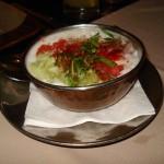 Şangay - Bakhura Hint Restoranı - Acıyı alan yoğurdumsu
