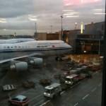 Frankfurt Havalimanı Uçağımız