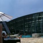 Şanghay'da Yüzme Havuzu - JW Marriott Oteli